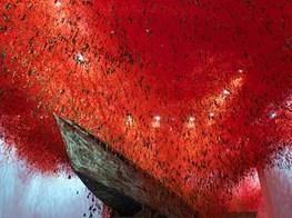 Weaving new worlds: designboom speaks to Chiharu Shiota