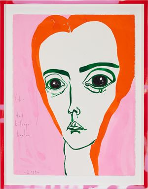 i tink by Del Kathryn Barton contemporary artwork