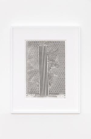 Xerografia Originale by Bruno Munari contemporary artwork works on paper