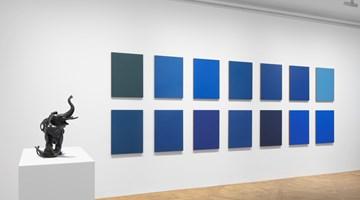 Contemporary art exhibition, Sherrie Levine, After Reinhardt at David Zwirner, 69th Street, New York