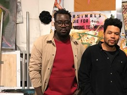 Cut & Paste: Oscar Murillo and Modou Dieng on when art gets political
