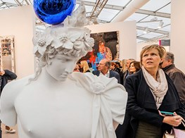 Frieze London review, Regent's Park: the fine art of hobnobbing and showing off
