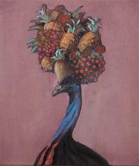 Study for Tropical by Joanna Braithwaite contemporary artwork painting