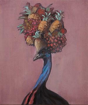 Study for Tropical by Joanna Braithwaite contemporary artwork