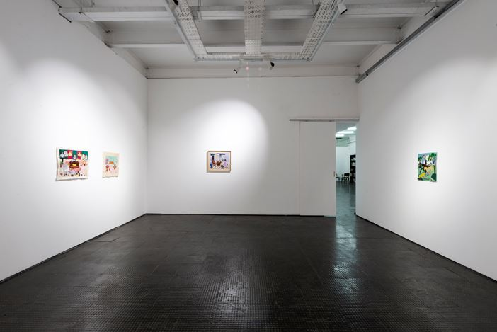 Exhibition room: Michaela Younge, Artist Room, SMAC Gallery (17 October–14 November 2020). Courtesy SMAC Gallery.