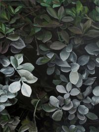 White Leaves No.1白叶 No.1 by Guo Hongwei contemporary artwork painting