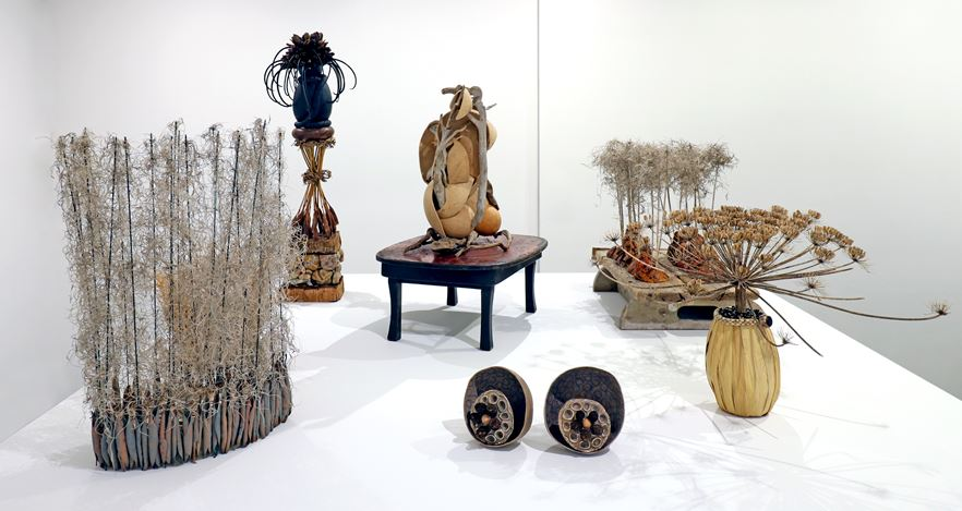 Exhibition view: Terry Albright,Terry Albright Sculpture, 2015–2018, Krakow Witkin Gallery, Boston (22 June–26 July 2019). Courtesy Krakow Witkin Gallery.