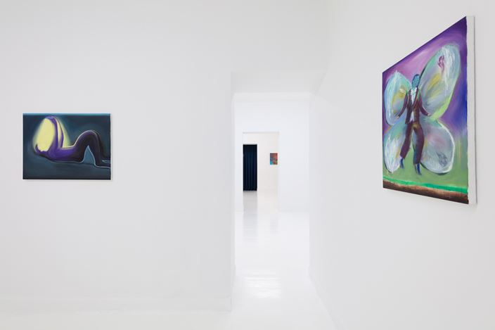 Exhibition view: Group Exhibition, Right Behind Your Eyes 匿于眼后, Capsule Shanghai, (29 June–15 August 2019). Courtesy Capsule Shanghai.