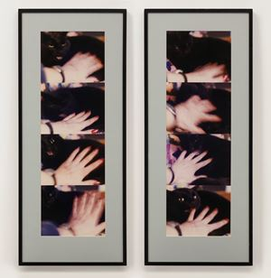 Approach to Fear I: Violence - identify with aggressor by Alexis Hunter contemporary artwork