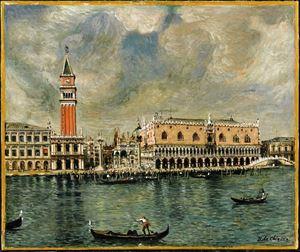 Venezia. Palazzo Ducale by Giorgio de Chirico contemporary artwork