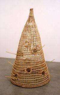 Bird Trap by Andreas Slominski contemporary artwork sculpture