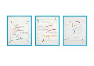 PENDING RESOLVE by Lawrence Weiner contemporary artwork