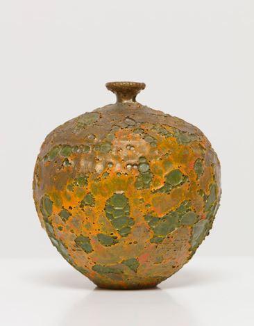 Doyle Lane,Weed Pot (c. 1960). Ceramic. 3 1/2 x 3 x 3 inches (8.9 x 7.6 x 7.6 cm). Courtesy David Kordansky Gallery.