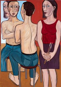 Every Mother's Son by Eileen Cooper contemporary artwork painting