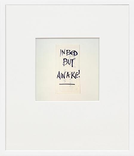 Notes from Jo by Keith Arnatt contemporary artwork