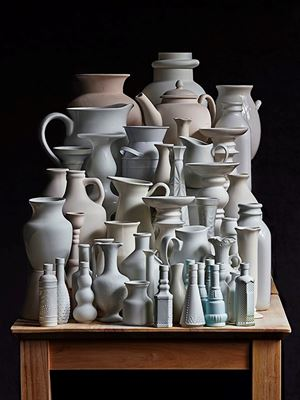 White Vessels. Composition #3 by Abelardo Morell contemporary artwork