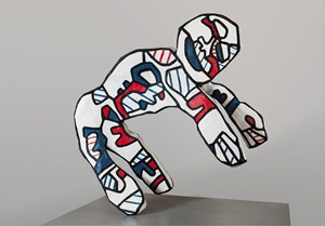 Le Facetieux (after maquette dated 20 May-December 1973) by Jean Dubuffet contemporary artwork