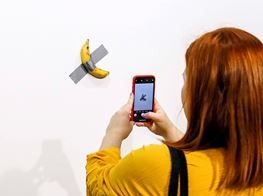 The Legal Risks of Eating Maurizio Cattelan's 'Comedian' Banana