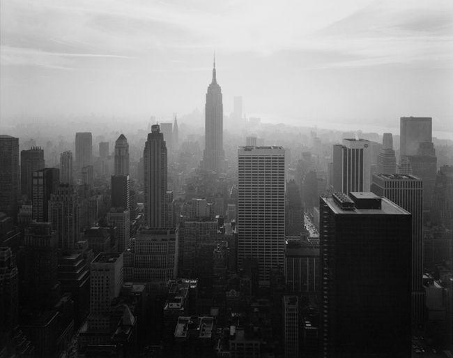 View of Midtown, New York City by Nicholas Nixon contemporary artwork