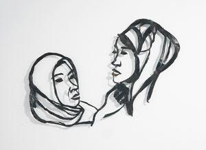 Gamis Trader by Yi-chun Lo contemporary artwork mixed media