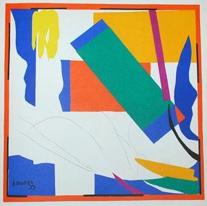 Souvenirs d'Oceanie by Henri Matisse contemporary artwork