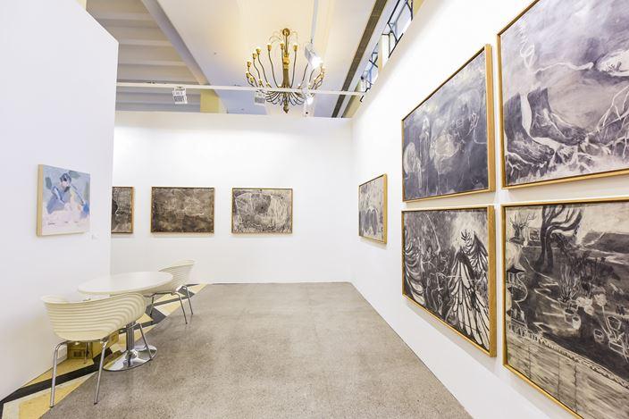 Exhibition view:ART021 Shanghai Contemporary Art Fair, Shanghai Exhibition Center (13–15 November 2020). Courtesy Tabula Rasa Gallery, Beijing.