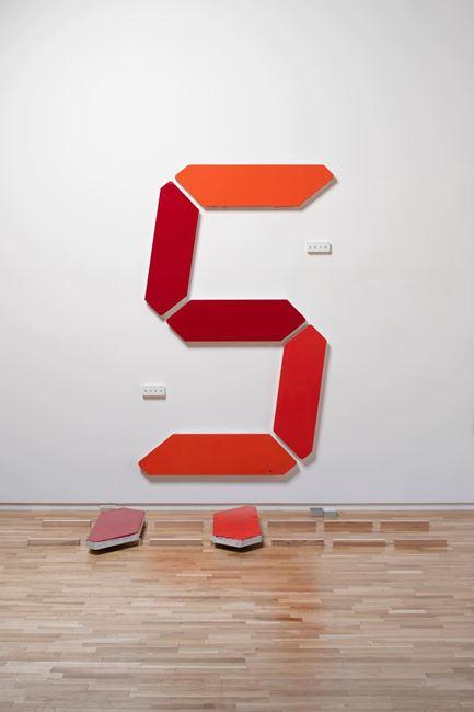 Painting of Change - 001 by Tatsuo Miyajima contemporary artwork