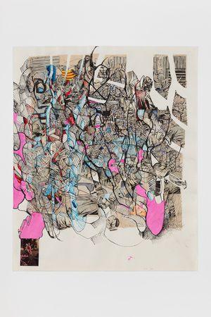 21.8.20.1 by Elliott Hundley contemporary artwork