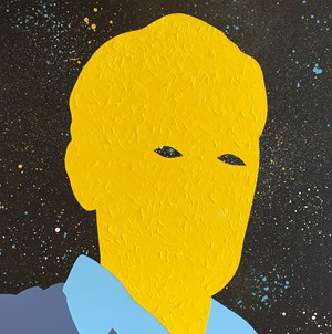 The Man in the Moon by Wayne Youle contemporary artwork