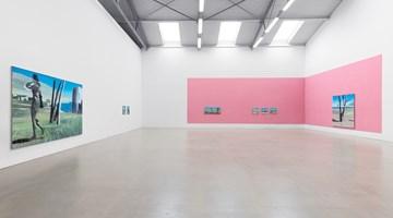 Contemporary art exhibition, Marc Desgrandchamps, Die blaue Stunde at Galerie Eigen + Art, Leipzig
