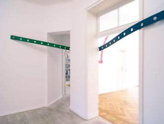 Exhibition view:Mariana Castillo Deball,das Haut-Ich, Barbara Wien, Berlin (28 April–25 August 2018). Courtesy Barbara Wien.
