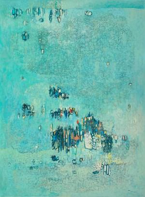 Composition by Abdelkader Guermaz contemporary artwork