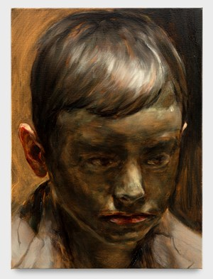 Mud Boy II by Michaël Borremans contemporary artwork
