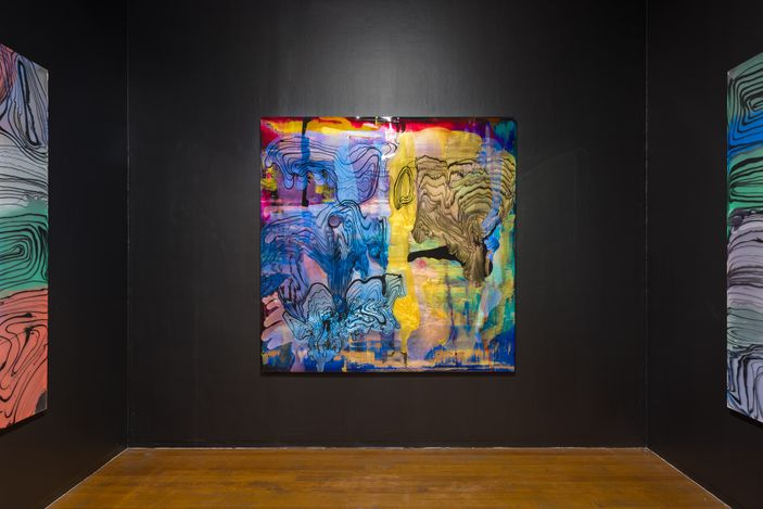 Exhibition view: Dale Frank,The Omega Variant Show, Roslyn Oxley9 Gallery, Sydney (3 September–2 October 2021). Courtesy Roslyn Oxley9 Gallery