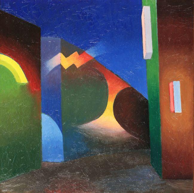 The City by Salvo contemporary artwork