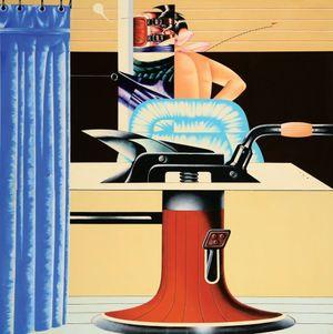 Gabinetto d'analisi n. 2 by Sergio Sarri contemporary artwork painting