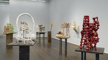 Contemporary art exhibition, Phyllida Barlow, small worlds at Hauser & Wirth, Zürich, Zurich