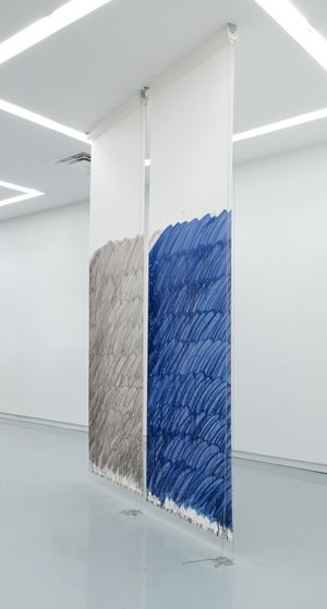 Blind No. 22, Fifteen-foot Ceiling or Lower by Stephen Prina contemporary artwork