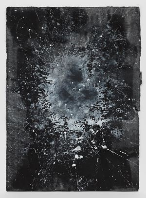 Study For Atopolis E by Jack Whitten contemporary artwork