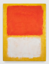 Untitled by Mark Rothko contemporary artwork painting, works on paper