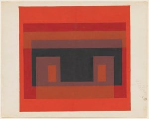 Color study (Variant/Adobe) by Josef Albers contemporary artwork