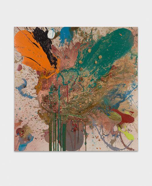 Quibble by John M Armleder contemporary artwork