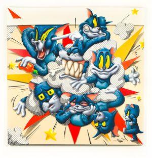 THE NEMEAN LION by Sebastian Chaumeton contemporary artwork