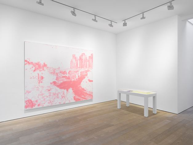 Exhibition view: LiuXiaodong, Weight of Insomnia,Lisson Gallery, London (25 January–3 March 2019).© LiuXiaodong. Courtesy Lisson Gallery.
