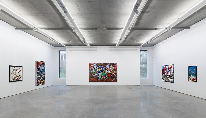 Exhibition view: Malcolm Morley, Online Exhibition., Gary Tatintsian Gallery (12 February–30 March 2021). Courtesy Gary Tatintsian Gallery.