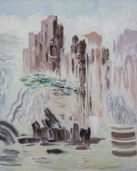 清凉山1号   Cool Mountain?No.1 by Ji Lei contemporary artwork painting