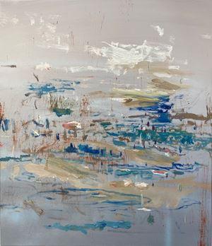 Sea scene no.10 (mirage) by I-Chin Liao contemporary artwork