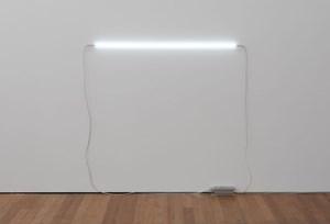 Untitled (Neon Piece) by Julian Dashper contemporary artwork