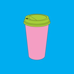 Takeaway coffee by Michael Craig-Martin contemporary artwork