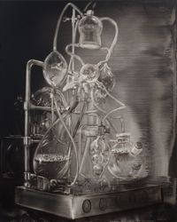 Laboratory No.7 by Lu Chao contemporary artwork painting